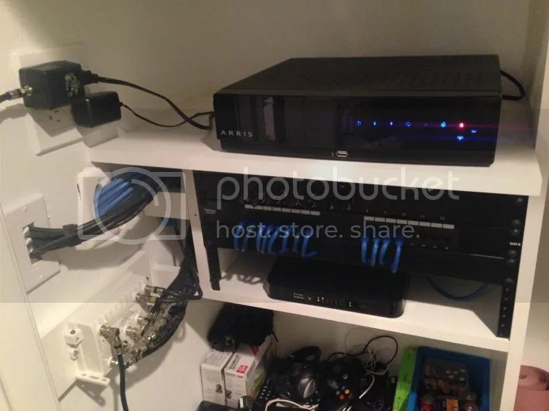 My Structured Wiring Home Network Project Showcase Diy Chatroom