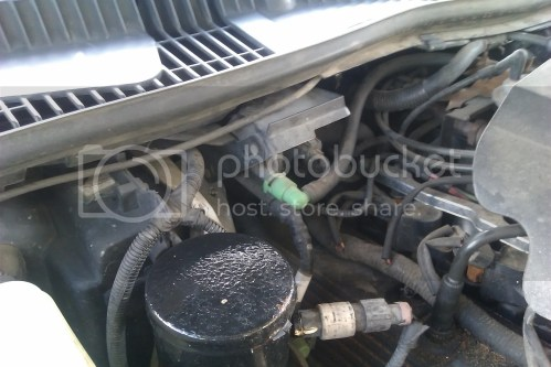 small resolution of this is what i see when the hood is up passenger side of engine