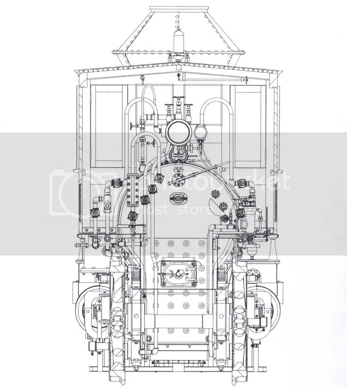 Parts Of The First Steam Engine Locomotive