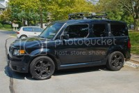 Honda Element Gobi Stealth Roof Rack