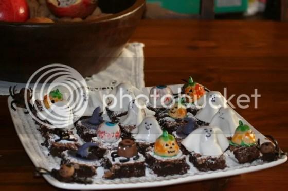 brownies di halloween