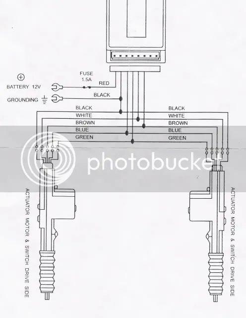 remote shaved door wiring diagrams