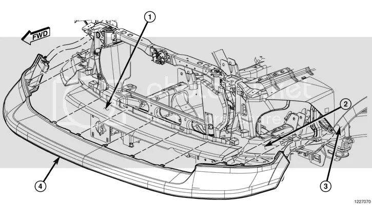 Dodge Grand Caravan Front Bumper Diagram Html