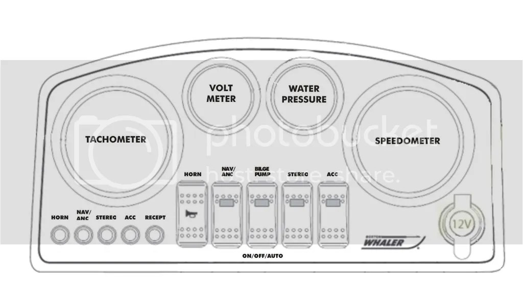 Finding Room on 170 MONTAUK Console for More Gauges