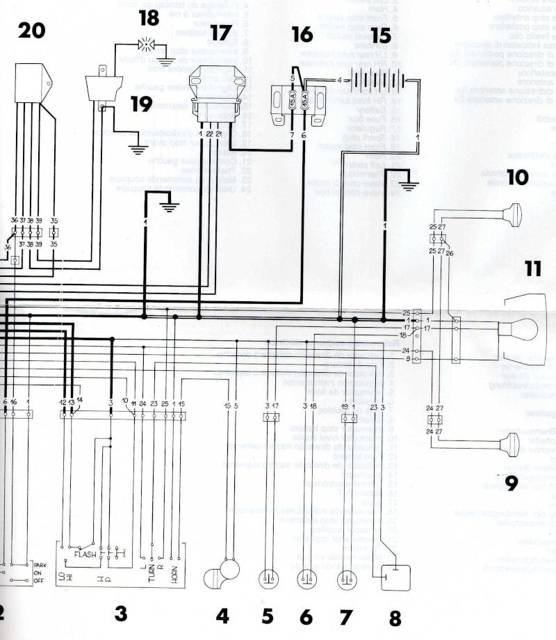 Schema Elettrico Husqvarna Sm 125: Janua service hornet cb