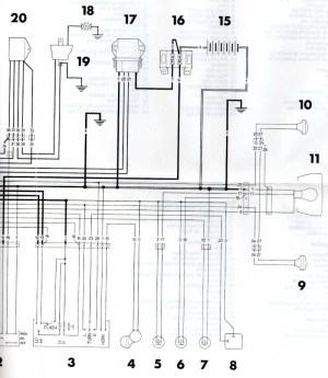 nouveau venu problème électrique 125 WRE