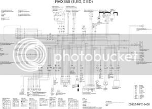XR600 XR650l FMX650 wire diagram HELP  XR600650  ThumperTalk