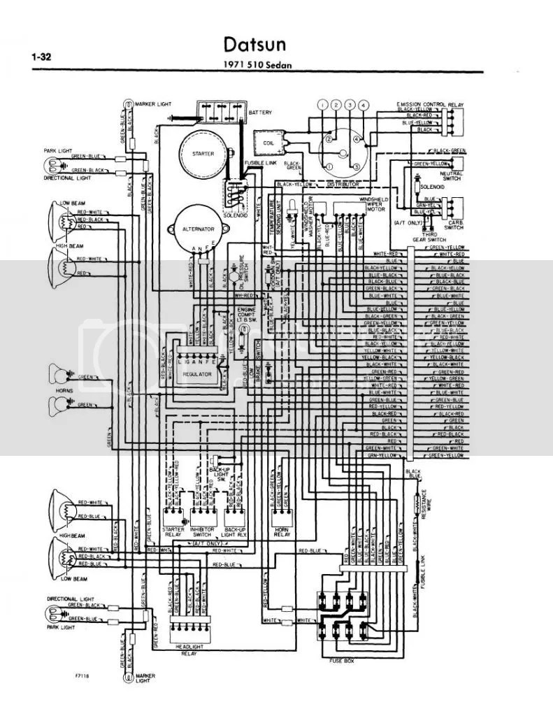 medium resolution of 510 relays and switches page 2 electrical ratsun forums rh ratsun net datsun 510 datsun 1600