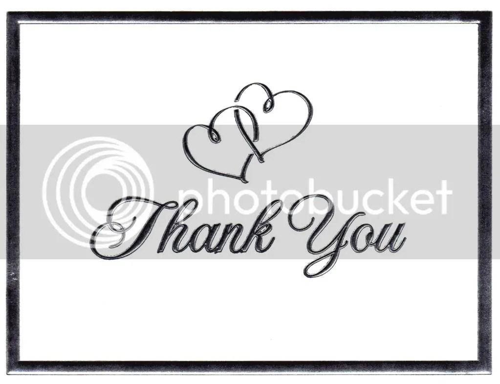 Thank You Letters ~ AUDIO PARADISE MOBILE DJS ~ Wedding DJ