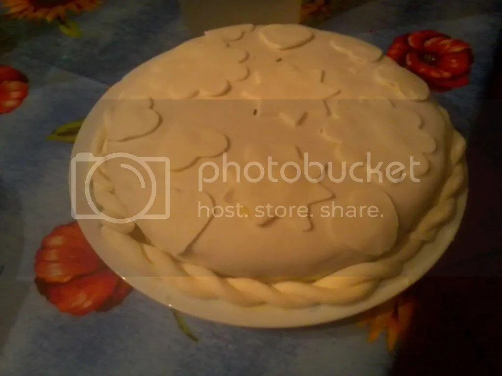 la mia prima torta con pdz