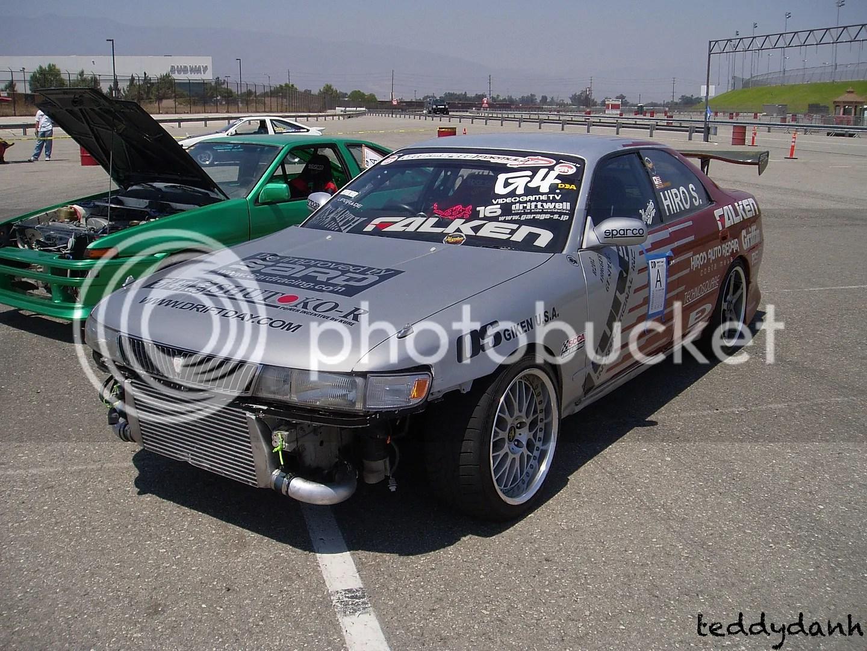 Drift Day 23,Hiro Sumida,JZX90,Chaser