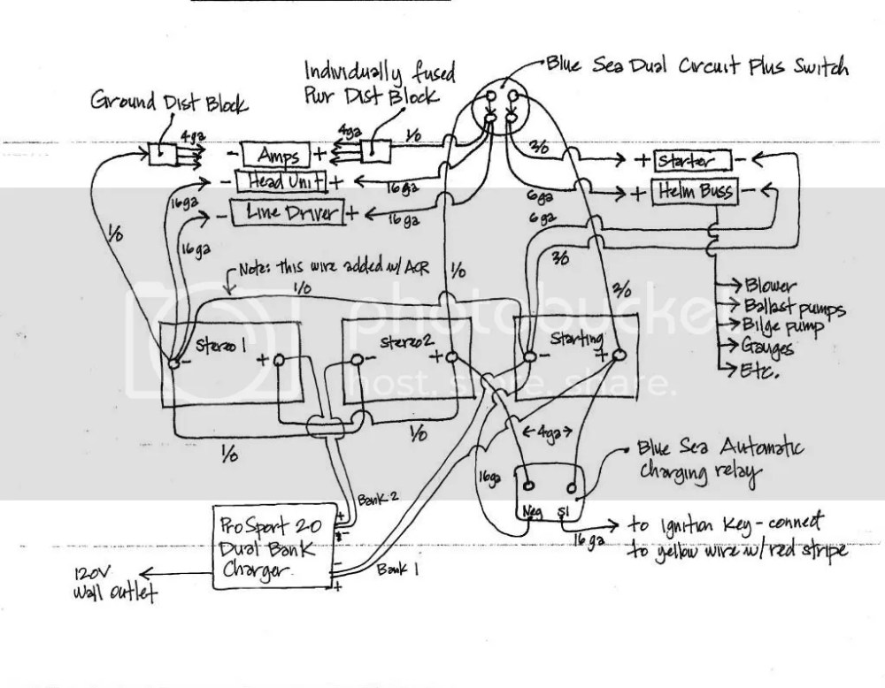 medium resolution of wiring diagram for blue sea add a battery switch acr combo rh forum moomba com moomba