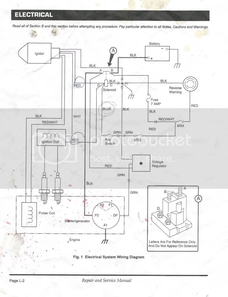hight resolution of ez go workhorse wiring diagram mc400e