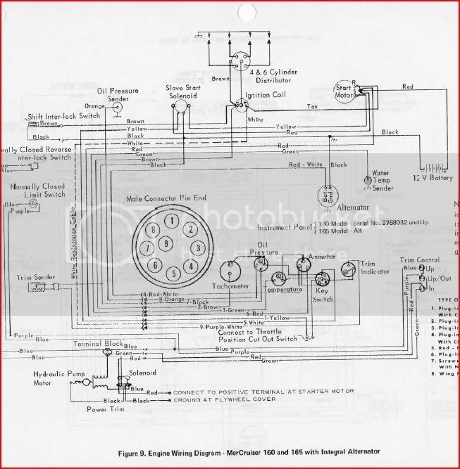 140 Mercruiser Wiring Diagram, 140, Free Engine Image For