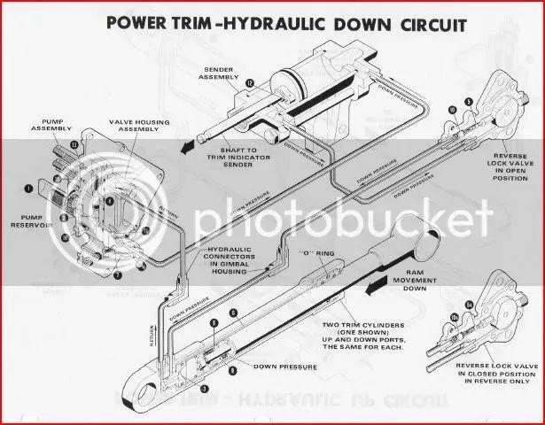 alpha one trim wiring diagram