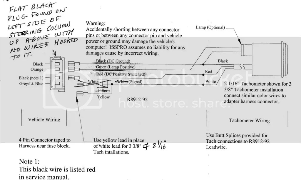 Fx Wiring Diagram Tach   Wiring Diagram on