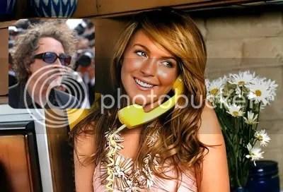 Lindsay Lohan Tim Burton