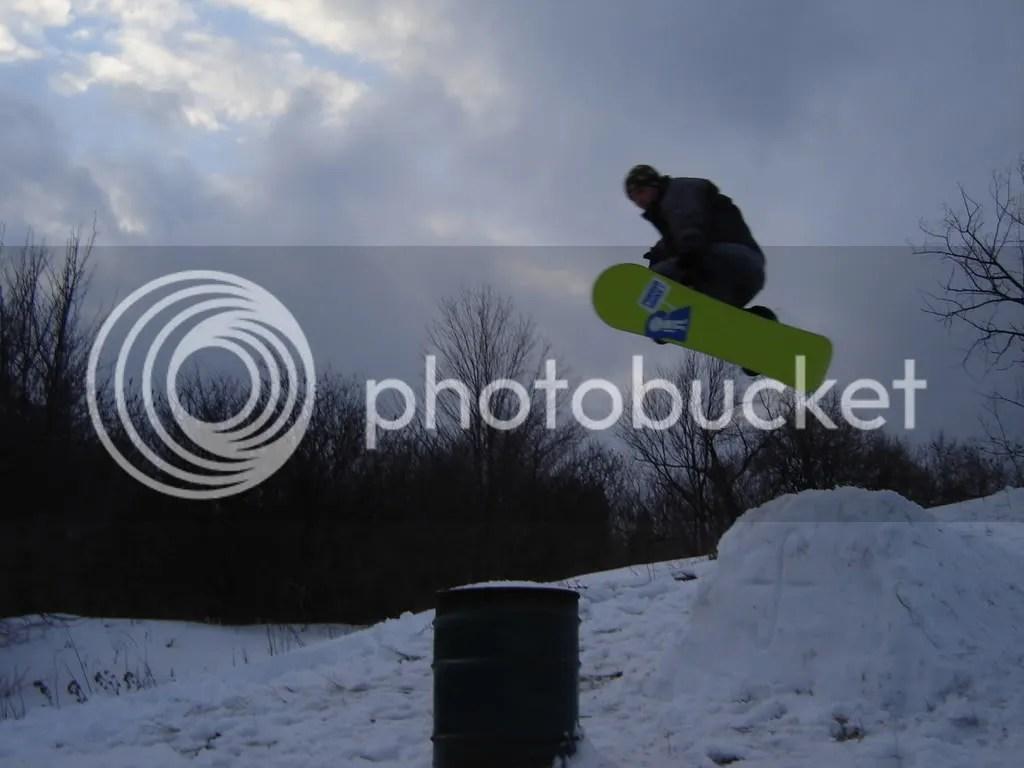 Pauls first jump