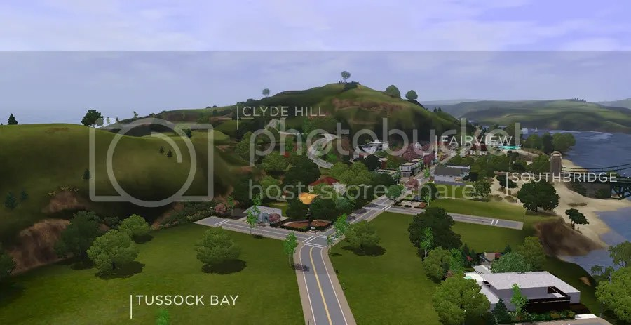 St Claire - A new world for The Sims 3