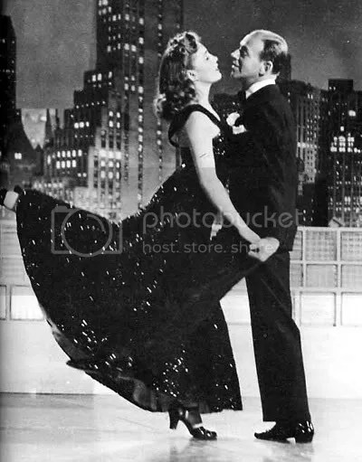 Fred Astaire and Joan Leslie
