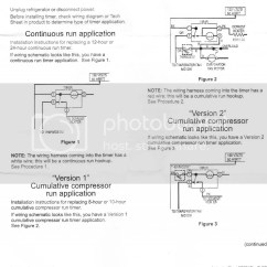 Ge Refrigerator Wiring Diagram Defrost Heater Briggs And Stratton Ignition Coil Fixed Frigidaire Mini Timer