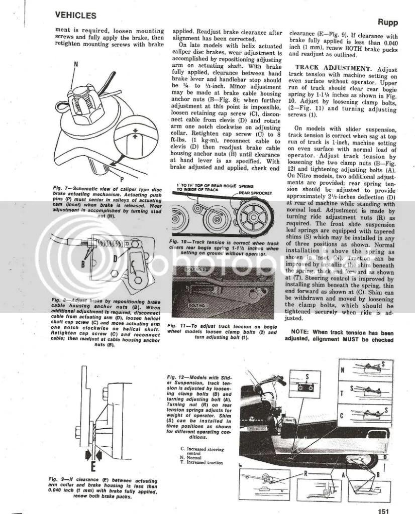 1971 Rupp Snowmobile 440 Wiring Diagram : 39 Wiring