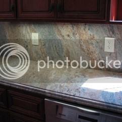 Stone Kitchen Backsplash Compost Pail For Full Granite