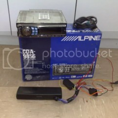 Alpine Cda 9856 Wiring Diagram Home Audio Volume Control Nsw Head Deck Just Commodores