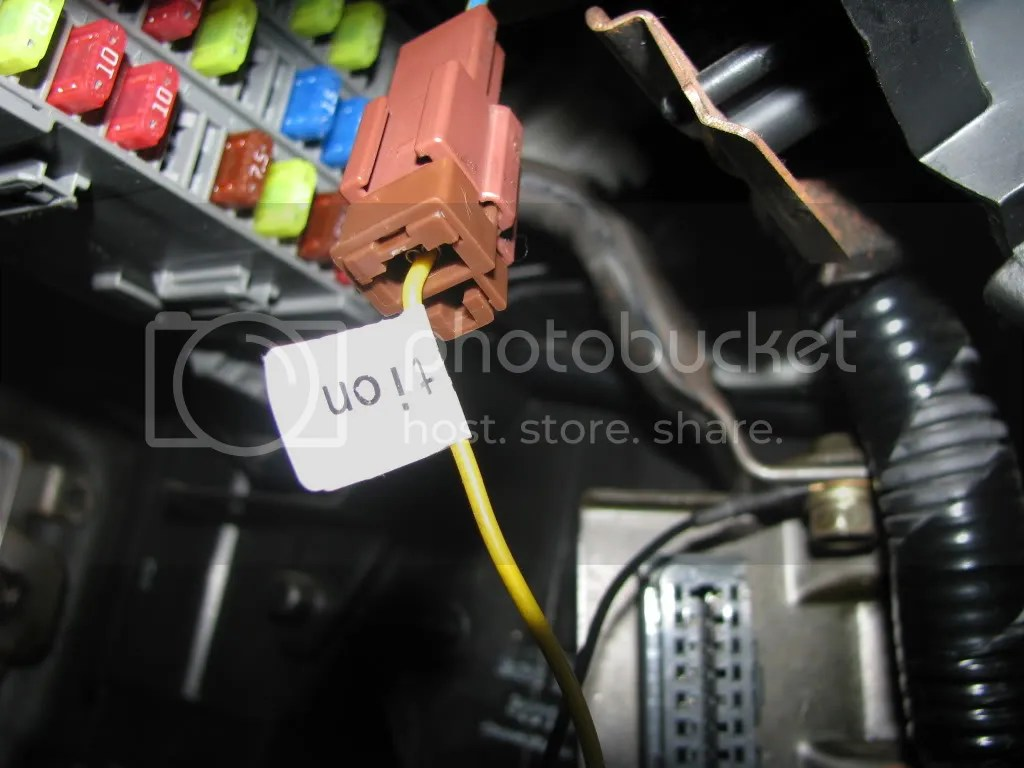 hight resolution of other negative ground grounded to this bolt near the diagnostic port positive wire connection fog light