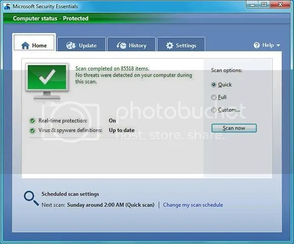microsoft security essentials 1 Microsoft Security Essentials | La Protección Antivirus Gratis