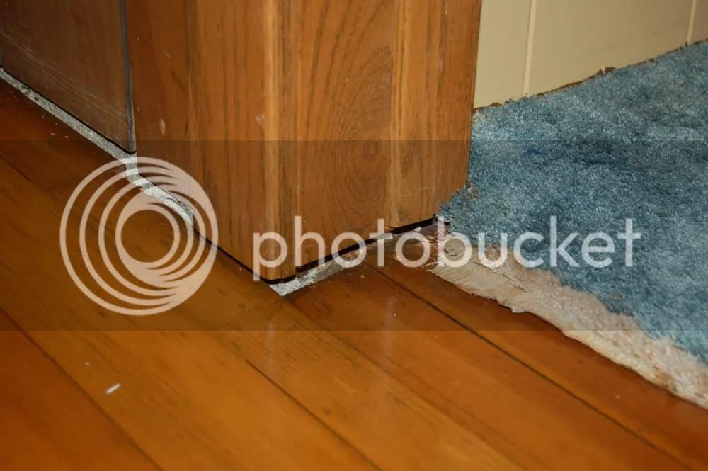 Hardwood Floor Restorationdoor Jam Gaps  Flooring