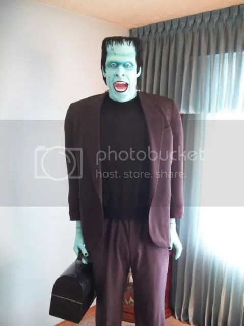 Herman Munster Howard S Lifesize Display  RPF Costume and Prop Maker Community