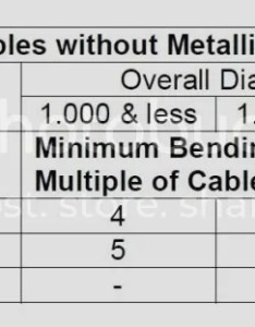 At worked for  wire manufacturer couple of years here is the chart we always sent out as recommendation also minimum bend radius page rh forums mikeholt