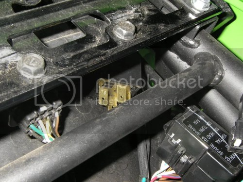 small resolution of the relays we moved and the auxiliary fuse block will sit on the battery hold down