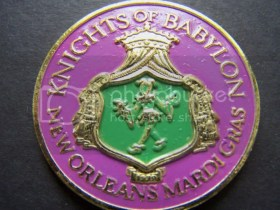 Knights of Babylon Mardi Gras Doubloon