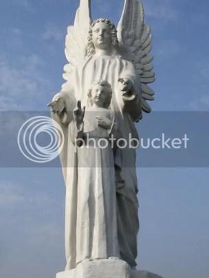 Estatua ángel - Jardines del Buen Retiro - Lima, Perú