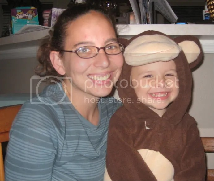 Mommy and Little Monkey