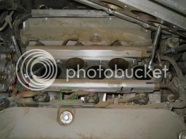 Lower Intake on 2003 Acura Tl Warning Lights