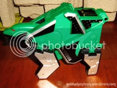 shinkengreens origami: beast form (bear)