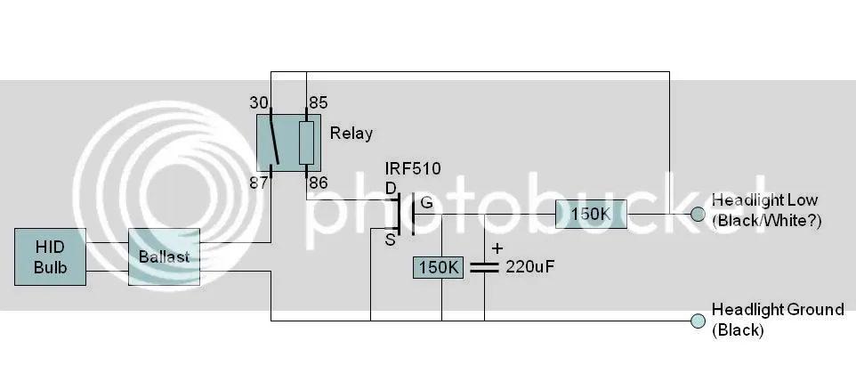 ballast wiring diagram for 2 u bulbs