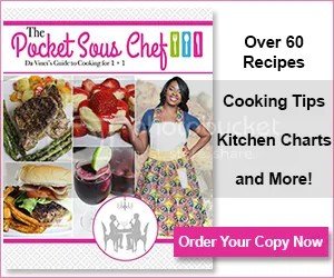 The Pocket Sous Chef cookbook
