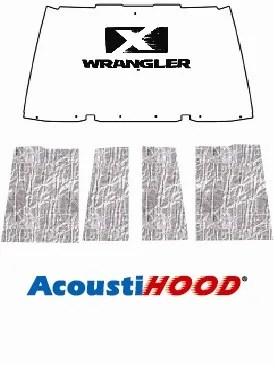 1996 2006 Jeep Wrangler TJ Under Hood Cover with J-036