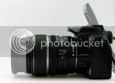 Canon EOS 400D & Lens