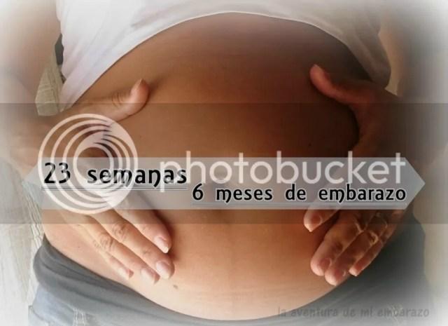 barriga embarazo 23 semanas 6 meses segundo trimestre
