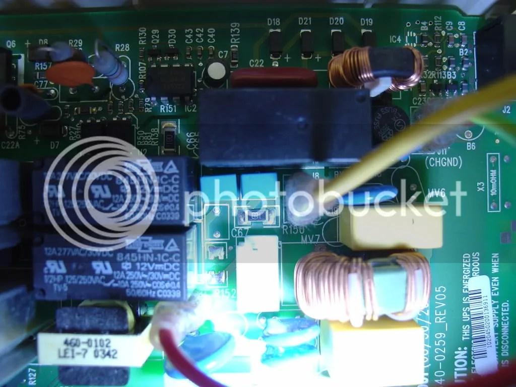 hight resolution of broken resistor
