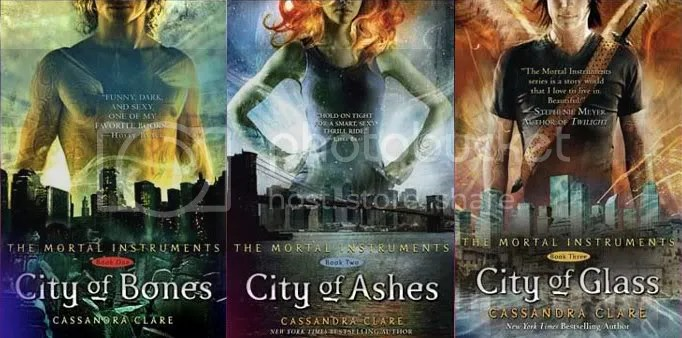 The Mortal Instruments trilogy