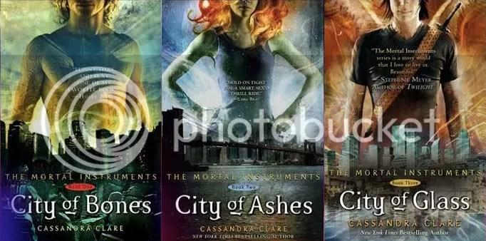 The Mortal Instruments trilogy