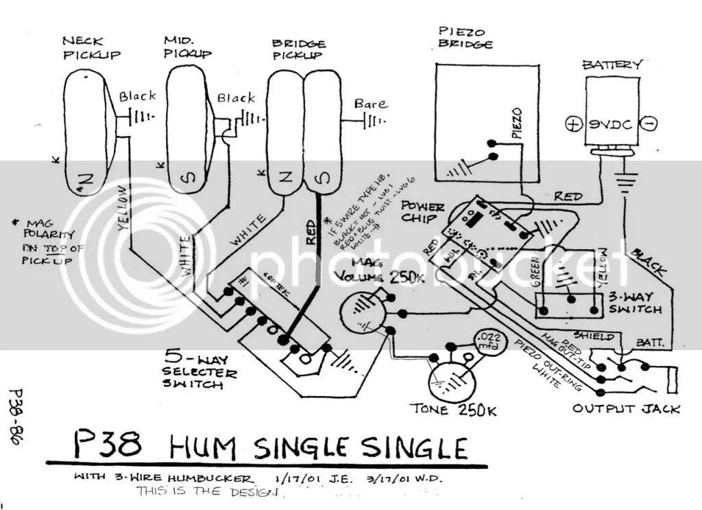 wiring diagram for jackson guitar
