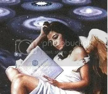 Angel Reading Pictures, Images and Photos
