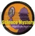 science mystery button